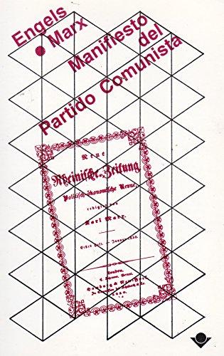 9789686996241: Manifiesto del partido comunista (Spanish Edition)