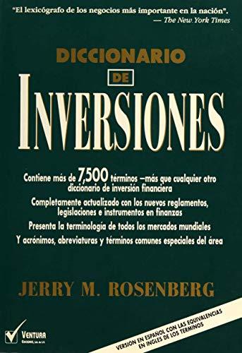 9789687393032: Diccionario de inversiones ingles-español