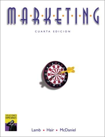Marketing (SPANISH TRANSLATION OF MARKETING, 4E/0-538-87011-7): Lamb, Charles, Hair, Joseph F....