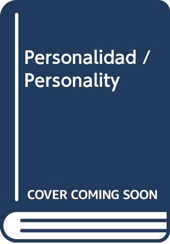9789687529813: Personalidad / Personality