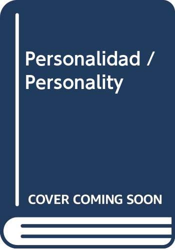 9789687529813: Personalidad / Personality (Spanish Edition)