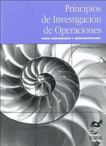 9789687681221: Principios de Investigacion de Operaciones