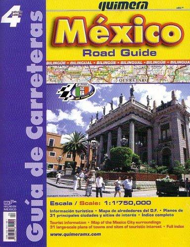 9789687811505: Mexico Road Guide: Road Atlas by Quimera