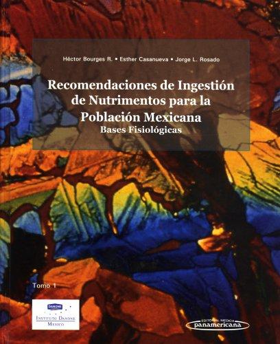 9789687988580: Recomendaciones Ingestion Nutrimentos (Spanish Edition)