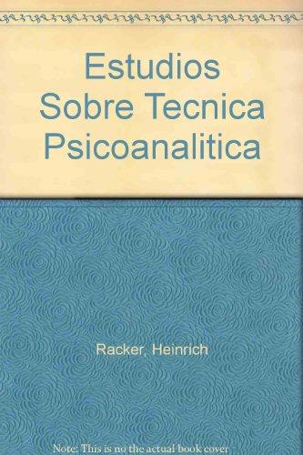9789688531440: Estudios Sobre Tecnica Psicoanalitica (Spanish Edition)