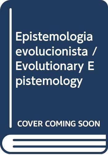 9789688533574: Epistemologia evolucionista / Evolutionary Epistemology (Spanish Edition)