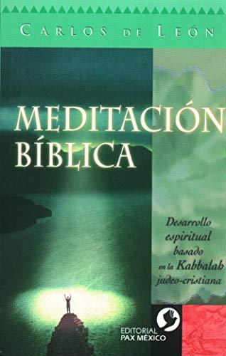 9789688606322: Meditacion Biblica