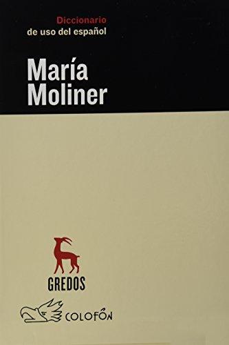 9789688672259: Diccionario del uso del espanol/ Dictionary of the use of Spanish