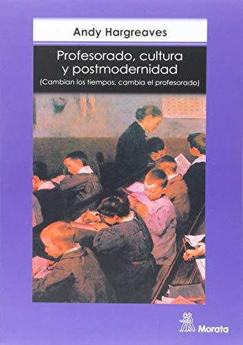 9789688679197: PROFESORADO, CULTURA Y POSTMODERNIDAD.