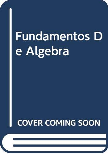 Fundamentos De Algebra Lineal y Aplicaciones (Spanish: Florey, Francis G.