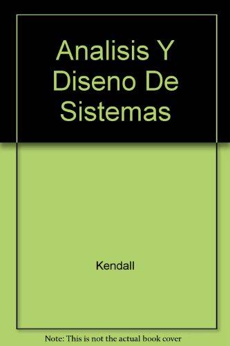 9789688801741: Analisis Y Diseno De Sistemas