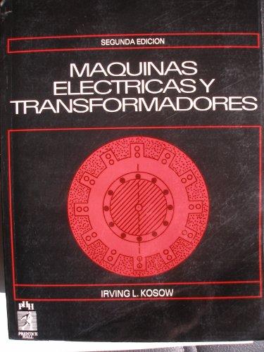 Maquinas Electr (Hispan) Kosow: KOSOW,IRVING L.