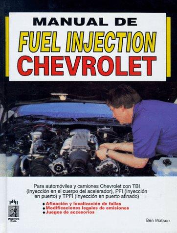 9789688803554: Manual de Fuel Injection, Chevrolet (Spanish Edition)