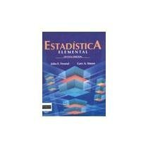 9789688804339: Estadistica elemental, 8a edicion (Spanish Edition)