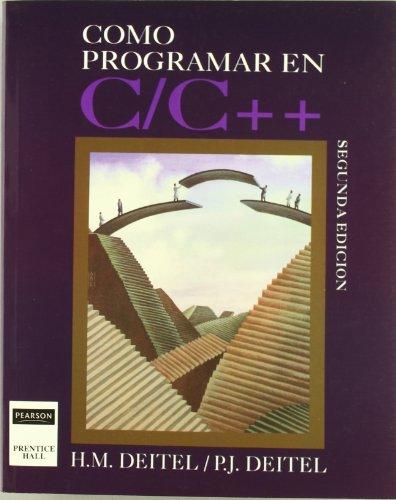 9789688804711: Como Programar En C