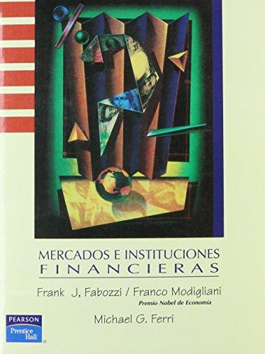 9789688806791: Mercados E Instituciones Finan