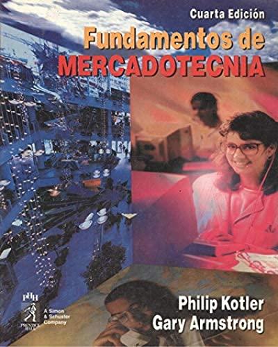 9789688809488: Fundamentos de Mercadotecnia - 4 Edicion (Spanish Edition)