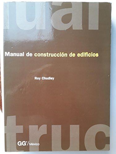 9789688873076: Manual de Construccion de Edificios (Spanish Edition)