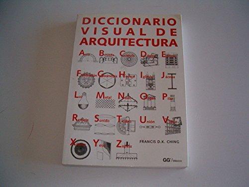 9789688873397: Diccionario Visual de Arquitectura
