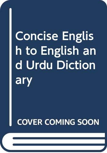 9789690007827: Concise English to Urdu Dictionary