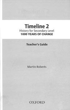 9789691622081: Timeline Secondary History Teacher's Guide 2