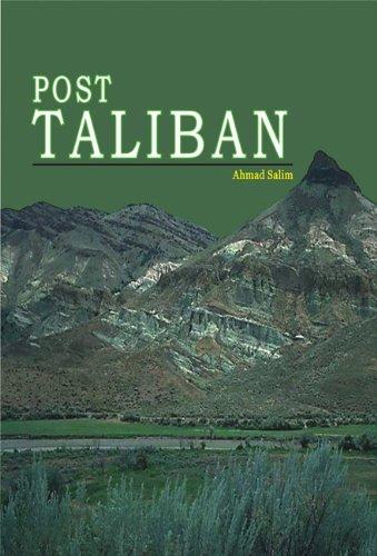 Post Taliban: Ahmad Salim