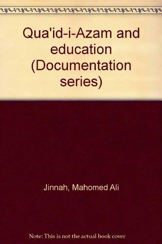 Qua'id-i-Azam and education (N.I.H.C.R. publication) (9694150353) by Jinnah, Mahomed Ali