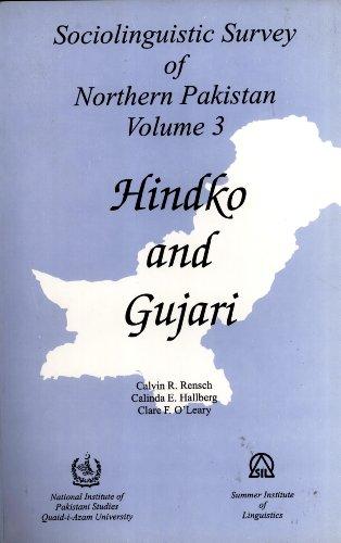 9789698023133: Sociolinguistic Survey of Northern Pakistan (Vol.3) Hindko and Gujari