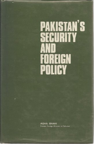 9789698064013: Pakistan's security and foreign policy
