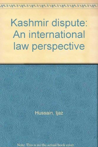 9789698329037: Kashmir dispute: An international law perspective