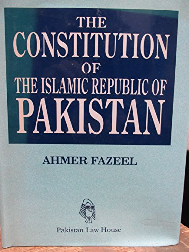 9789698372002: The Constitution of the Islamic Republic of Pakistan