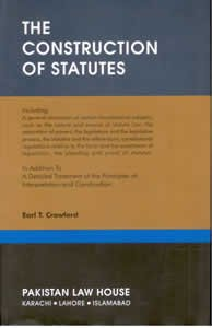 9789698372262: The Construction of Statutes