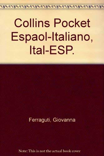 9789700503394: Diccionario español/italiano - italiano/spagnolo: Collins Pocket