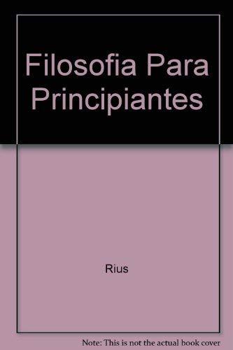 9789700508306: Filosofia para principiantes