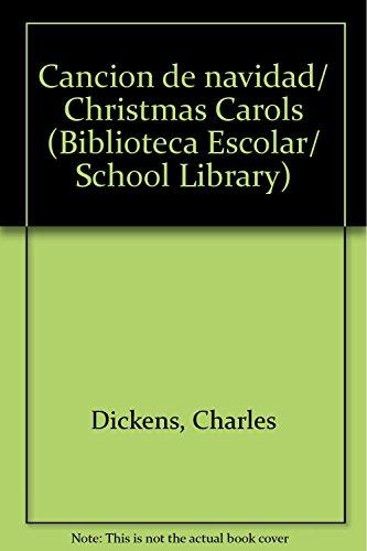 cancion de navidad christmas carols biblioteca escolar school library spanish