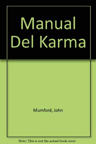9789700512877: Manual Del Karma (Spanish Edition)