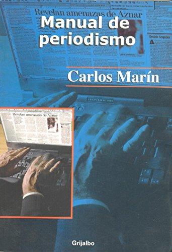 9789700516134: Manual de periodismo/ Journalism Manual