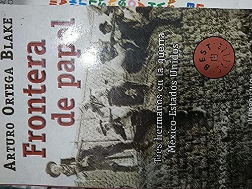 9789700517346: Frontera de Papel/ Paper Border (Spanish Edition)
