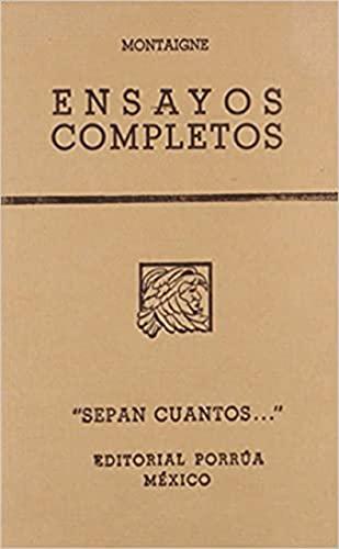 9789700705989: Ensayos Completos