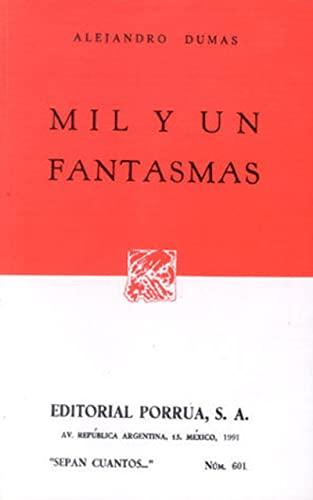 9789700705996: MIL Y UN FANTASMAS (SC601)