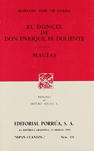 DONCEL DE DON ENRIQUE EL DOLIENTE, EL