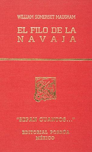 9789700714332: FILO DE LA NAVAJA, EL (SC698)