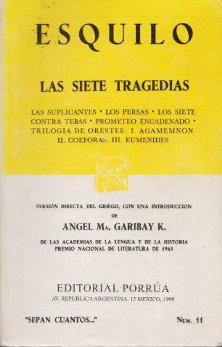 9789700715513: Las Siete Tragedias