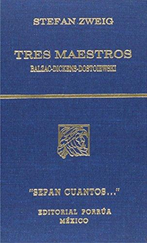 9789700724140: TRES MAESTROS (SC727)