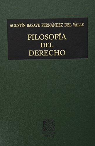 9789700726496: FILOSOFIA DEL DERECHO
