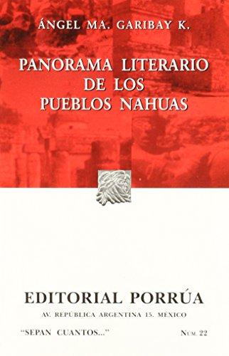 PANORAMA LITERARIO DE PUEB.NAHUAS/S.C.22: GARIBAY KINTANA, ANGEL
