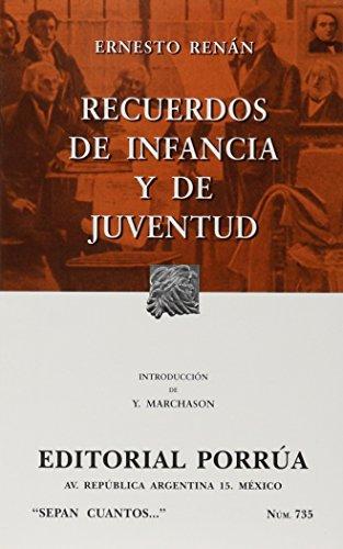 Recuerdos de la infancia y juventud (Paperback): Renan, Ernest