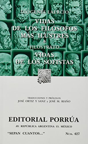 9789700739847: VIDAS DE LOS FILOSOFOS MAS ILUSTRES (SC427)