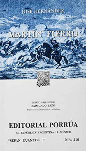 9789700740348: Martin fierro (Sepan Cuantos/Know How Many)
