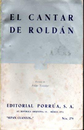 9789700741338: El cantar de Roldán